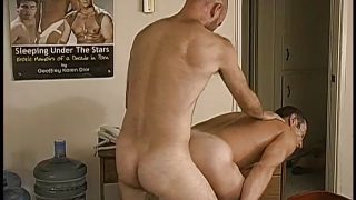 Hot gay office fuck