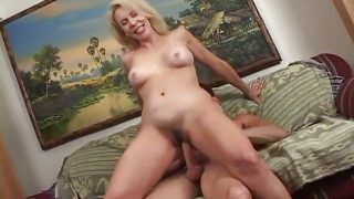 Granny Erica Lauren, Anal with young boy