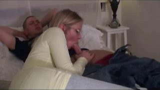 Hot Mom in Bedroom Fucked By Young Boy